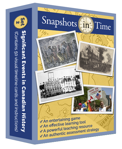 Snapshots in Time: Significant Events in Canadian History Set 2