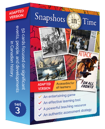 Snapshots in Time: Adapted Version Set 3
