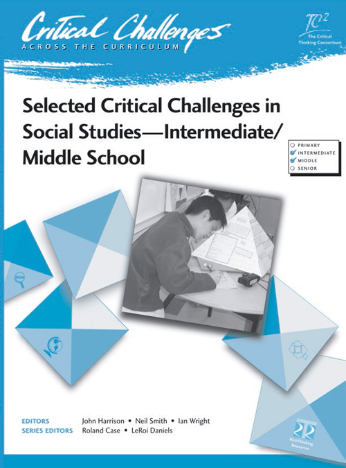 6 critical thinking challenges Critical thinking is a process that challenges an individual to use  series  learning to learn: developing critical thinking skills learning centre 6.