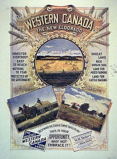 Tc2 Source Docs Prairie Immigration And The Quot Last Best West Quot
