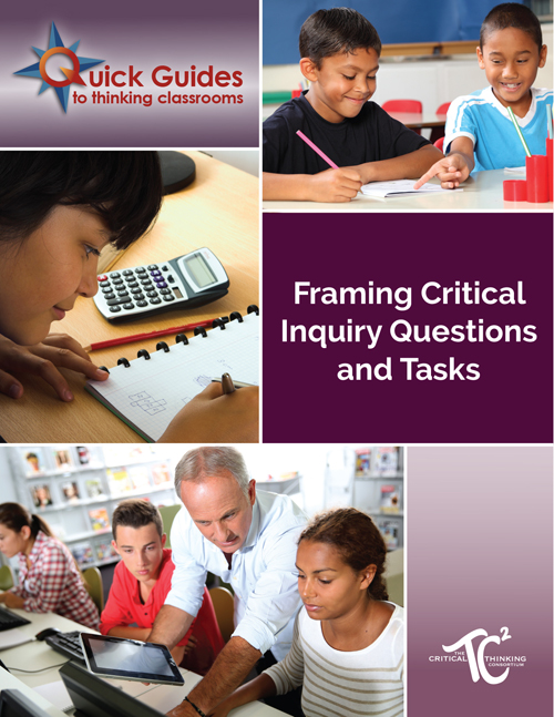 Framing Critical Inquiry Questions and Tasks