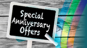 Special Anniversary Offers