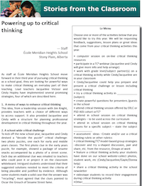 The power of critical thinking pdf
